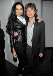 l'Wren Scott and partner, Mick Jagger